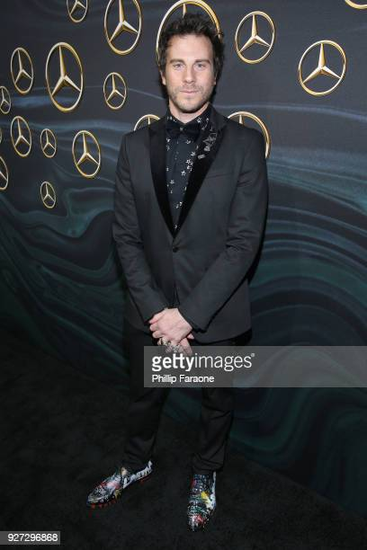 Artist Gregory Siff attends MercedesBenz USA Official Awards Viewing Party at Four Seasons Beverly Hills CA on March 4 2018 in Los Angeles California