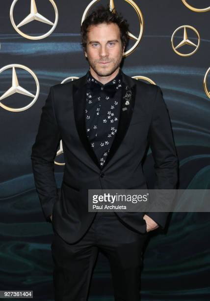 Artist Gregory Siff attends MercedezBenz USA's official Awards viewing party at The Four Seasons Hotel Los Angeles at Beverly Hills on March 4 2018...