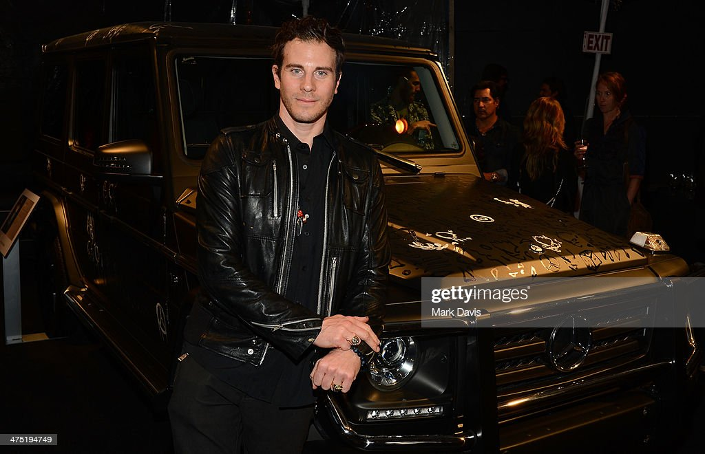 Artist Gregory Siff attends The Art Of Elysium's 7th Annual 'Pieces Of Heaven' held at Siren Studios on February 26, 2014 in Hollywood, California.