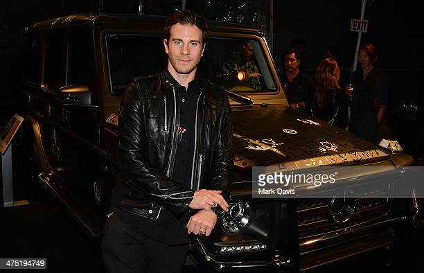 Artist Gregory Siff attends The Art Of Elysium's 7th Annual 'Pieces Of Heaven' held at Siren Studios on February 26 2014 in Hollywood California