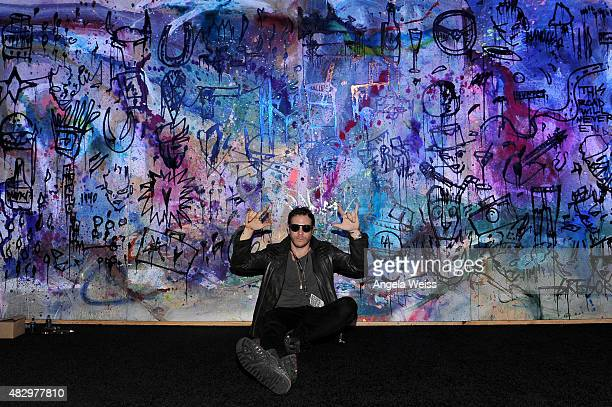 Artist Gregory Siff attends the MercedesBenz 2015 Evolution Tour on August 4 2015 in Los Angeles California