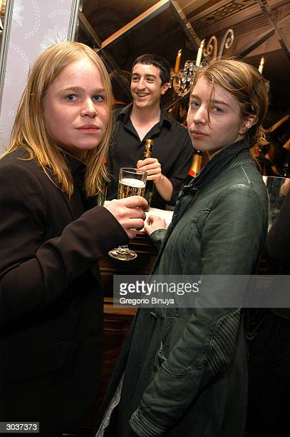 Artist Hanna Liden and gallery curator Emily Fundblad attends Accompanied Magazine's First Annual Library and Writers Benefit at the Gramercy Park...