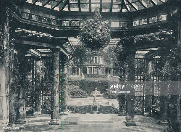 Artist Horatio Nelson King 'The Pergola' circa 1900 Inverforth House is a large detached house at North End Way on the outskirts of Hampstead London...