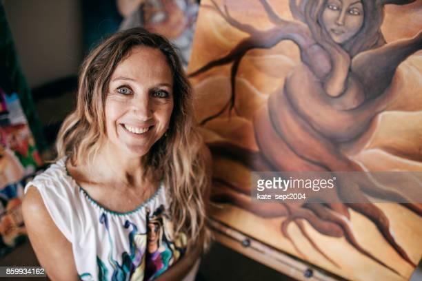 artist her studio