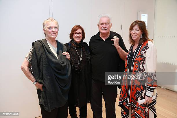 """Artist Jackie Winsor, Kristi Zea, Keith Sonnier and Jane Rosenthal attend the premiere of """"Everybody Knows... Elizabeth Murray"""" during the 2016..."""