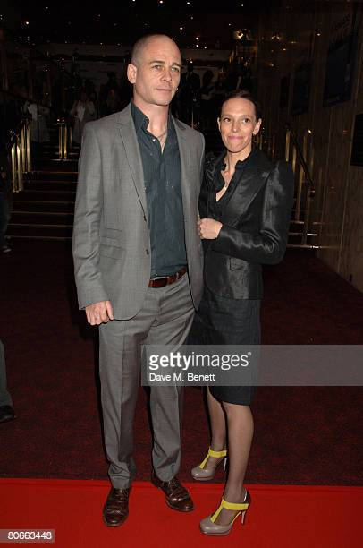 Artist Jake Chapman and Tiphaine de Luss attend the premiere of 'Flash Back of a Fool' at theEmpire Leicester Square on April 13 2008 in London...