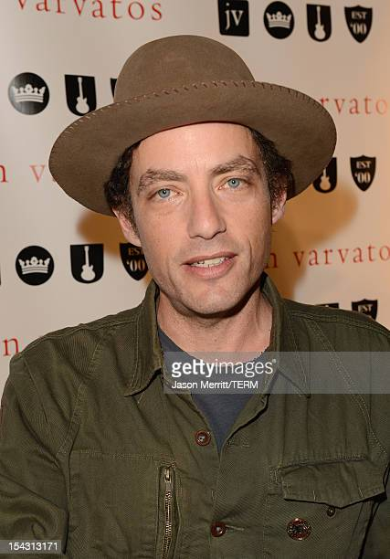 Artist Jakob Dylan attends the John Varvatos 10 Years In West Hollywood Celebration with a private performance by Paul Weller held at John Varvatos...