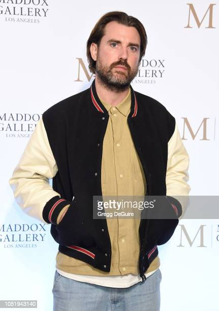 Artist James Golding of the Connor Brothers attends the VIP Opening of Maddox Gallery Exhibition Best Of British at Maddox Gallery on October 11 2018...