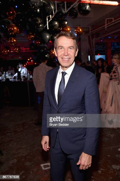 Artist Jeff Koons attends Moet Hennessy at The 2017 amfAR and The Naked Heart Foundation Fabulous Fund Fair on October 28 2017 in New York City