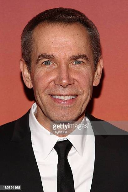 Artist Jeff Koons attends the 2013 Whitney Gala and Studio party at Skylight at Moynihan Station on October 23, 2013 in New York City.