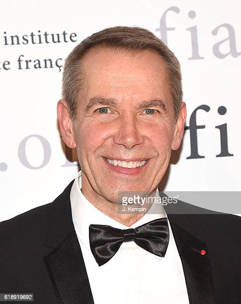 Artist Jeff Koons attends the 2016 Trophee Des Arts Gala at The Plaza Hotel on October 28 2016 in New York City
