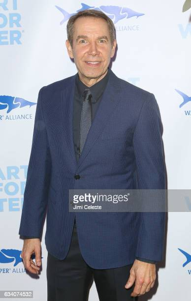Artist Jeff Koons attends the 2017 Art For Water To Benefit Waterkeeper Alliance at Sotheby's on February 6 2017 in New York City