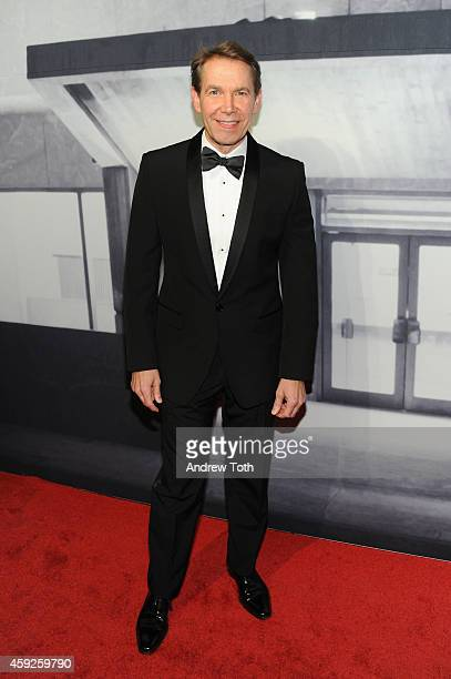 Artist Jeff Koons attends The Whitney Museum Of American Art's 2014 Gala Studio Party at The Whitney Museum of American Art on November 19 2014 in...