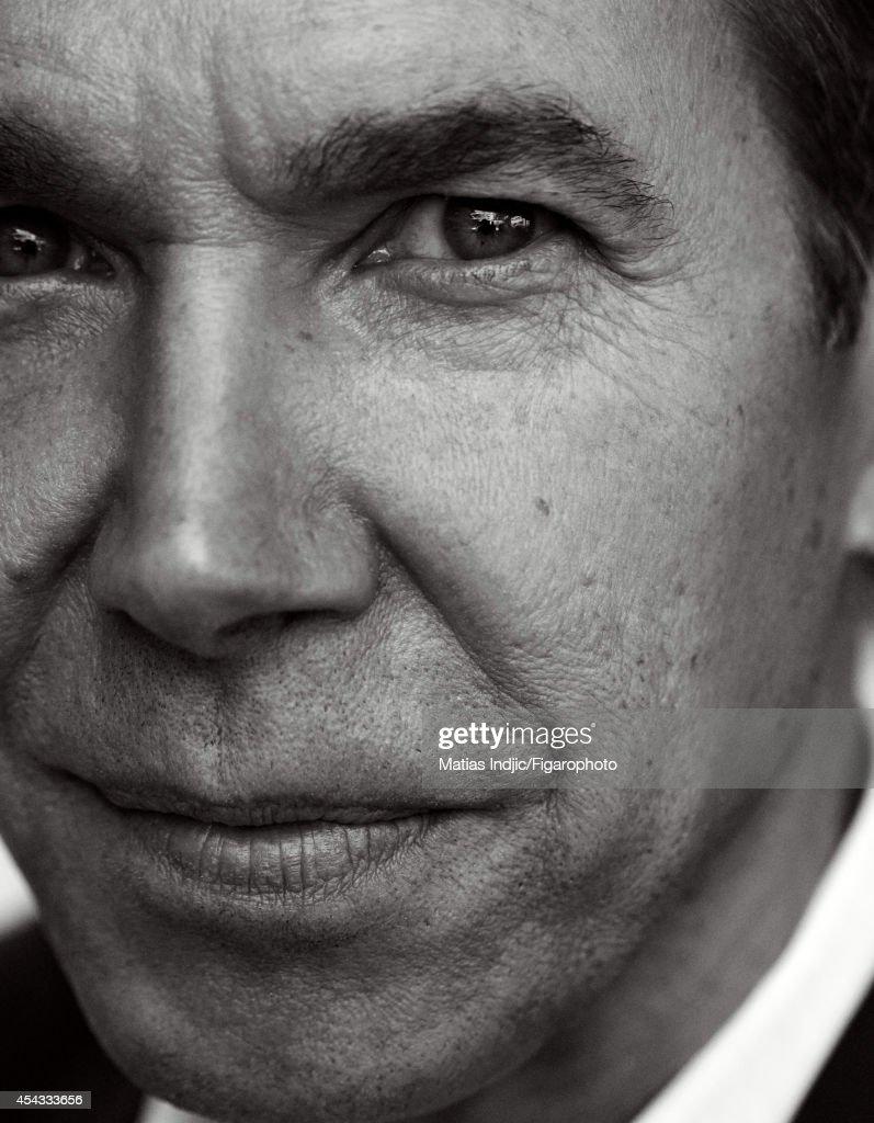 Jeff Koons, Madame Figaro, August 22, 2014