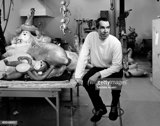 Artist Jeff Koons is photographed on May 11 2004 in New York City
