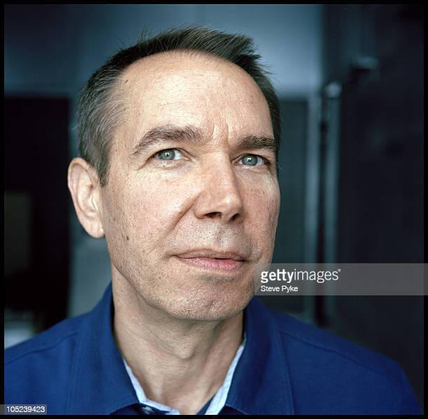 Artist Jeff Koons poses for a portrait session on August 12 at his studio in New York City NY