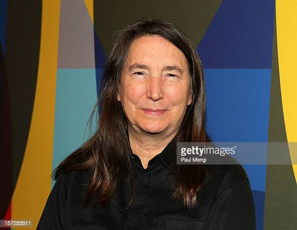 Artist Jenny Holzer attends Art In Embassies 50th Anniversary Celebration at Smithsonian National Museum Of American History on November 30 2012 in...