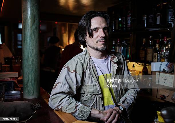 Artist Jeremy Deller is photographed on November 9 2014 in Ramsgate England