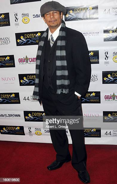 Artist Jesse Raudales arrives for the NAACP Image Awards Nomination Party featuring Woman Thou Art Loosed On THe 7th Day for Best Independent Motion...