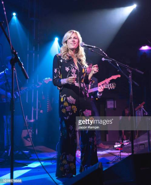 Artist Erin Rae performs at 3rd and Lindsley on August 19 2018 in Nashville Tennessee