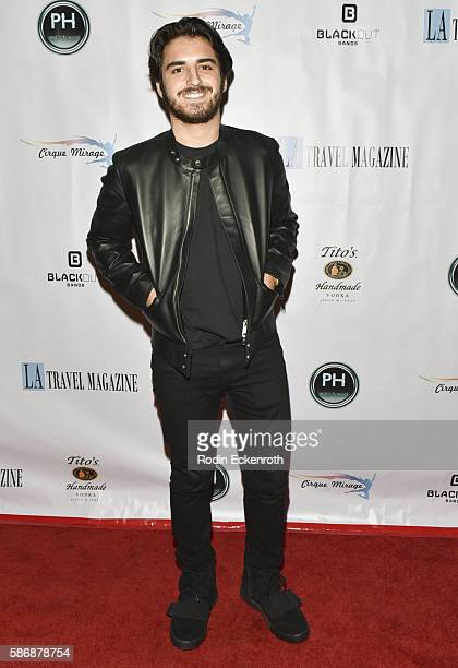 EDM artist John Blake attends Los Angeles Travel Magazine 2016 Endless Summer Issue Release at Penthouse Nightclub Dayclub on August 6 2016 in West...