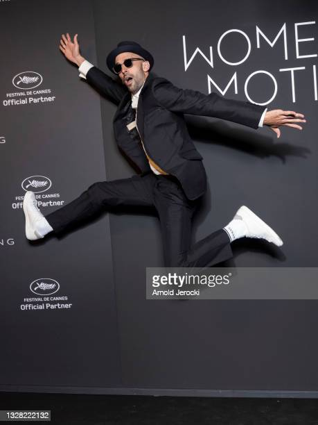 Artist JR attends the Kering Women In Motion Awards during the 74th annual Cannes Film Festival on July 11, 2021 in Cannes, France.