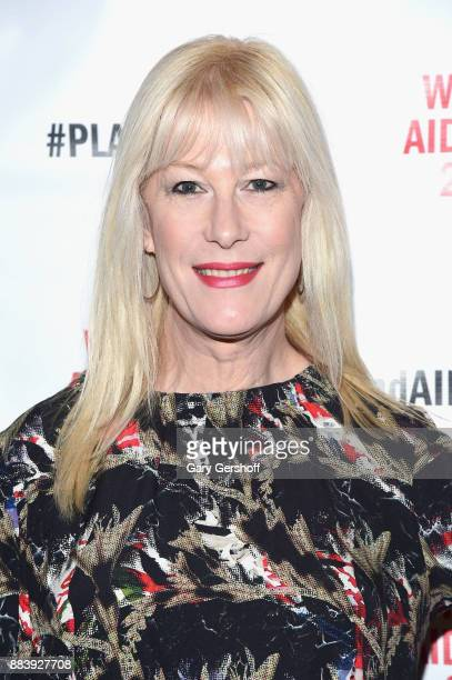 Artist Justin Vivian Bond and Sammy Jo attend World AIDS Day 2017 at Kings Theatre on December 1 2017 in the Brooklyn borough of New York City New...