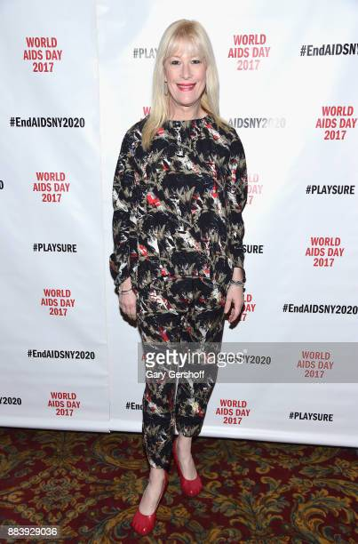 Artist Justin Vivian Bond attends World AIDS Day 2017 at Kings Theatre on December 1 2017 in the Brooklyn borough of New York City New York