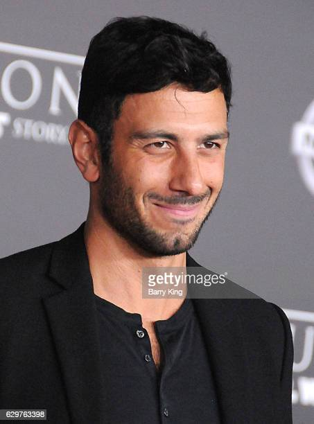 Artist Jwan Yosef attends the premiere of Walt Disney Pictures and Lucasfilms' 'Rogue One A Star Wars Story' at the Pantages Theatre on December 10...