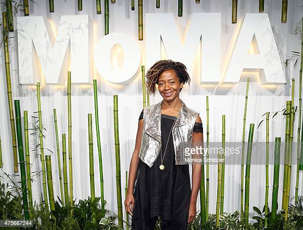 Artist Kara Walker attends Museum Of Modern Art's 2015 Party In The Garden Arrivals at Museum of Modern Art on June 2 2015 in New York City