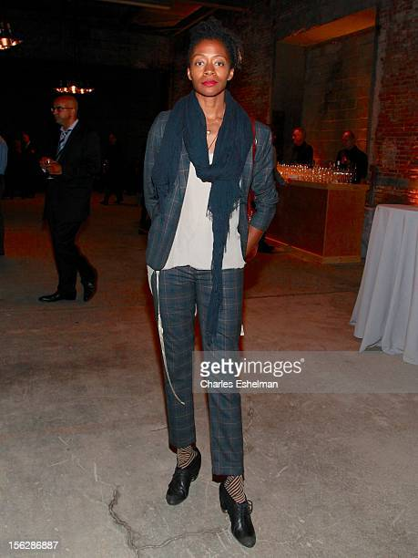 Artist Kara Walker attends the 2012 Dia Art Foundation's Gala at Dia Art Foundation on November 12 2012 in New York City