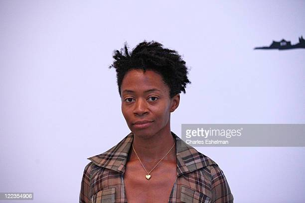 Artist Kara Walker attends the opening reception for the reinstallation of contemporary art from the collection at MOMA on June 29 2010 in New York...