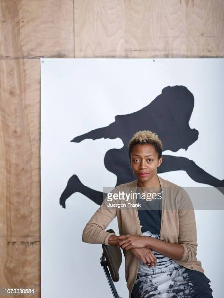 Artist Kara Walker is photographed for Art Magazine Germany on April 3 2014 in New York City