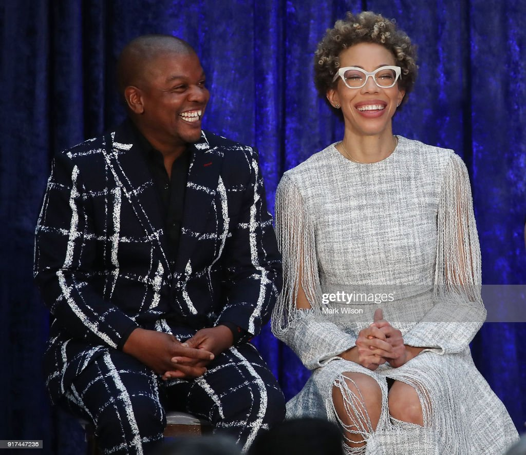 Artist Kehinde Wiley, and Amy Sherald attend their official portrait unveiling of former U.S. President Barack Obama and first lady Michelle Obama during a ceremony at the Smithsonian's National Portrait Gallery, on February 12, 2018 in Washington, DC. The portraits were commissioned by the Gallery, for Kehinde Wiley to create President Obama's portrait, and Amy Sherald that of Michelle Obama.
