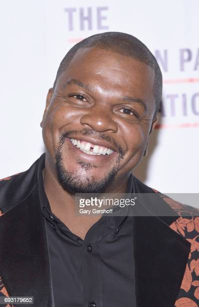 Artist Kehinde Wiley attends the 2017 Gordon Parks Foundation Awards gala at Cipriani 42nd Street on June 6 2017 in New York City