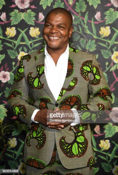 Artist Kehinde Wiley attends the Planned Parenthood's 2018 Spring Into Action Gala at Spring Studios on May 1, 2018 in New York City.