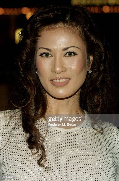 Artist Kyoko Kano attends the '12th Annual MusicCares Person Of The Year Award' February 25 2002 in Beverly Hills CA Singer Billy Joel was honored...