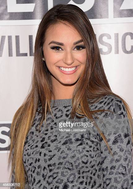 Artist Lacy Cavalier attends the SESAC 2014 Nashville Music Awards at Country Music Hall of Fame and Museum on November 2 2014 in Nashville Tennessee