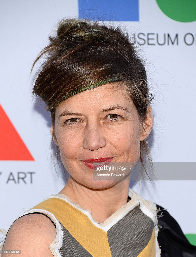 Artist Lara Schnitger arrives at the 'Yesssss!' 2013 MOCA Gala, celebrating the opening of the exhibition Urs Fischer at MOCA Grand Avenue on April 20, 2013 in Los Angeles, California.