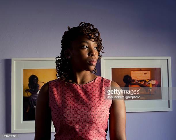 Artist Lebohang Kganye is photographed for Madame Figaro on June 24 2016 at home in Katlehong Johannesburg South Africa PUBLISHED IMAGE CREDIT MUST...