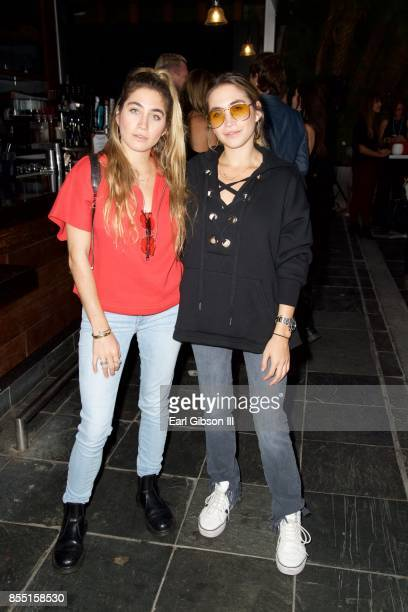 Artist Lexi Kaplan and Allie Kaplan attend the 1st Annual Voices4Freedom Charity Evening Benefit at W Los Angeles Westwood on September 27 2017 in...
