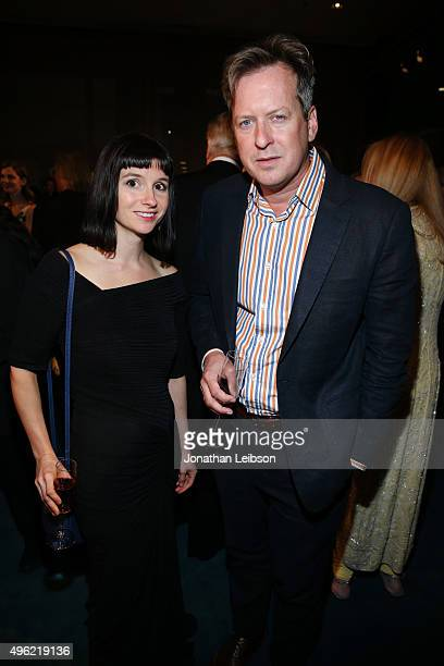 Artist Liz Glynn and director Doug Aitken attend LACMA 2015 ArtFilm Gala Honoring James Turrell and Alejandro G Iñárritu Presented by Gucci at LACMA...