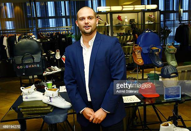 Artist Logan Real attends 'A Good Time At Goodman's' held at Goodman's Men's Store on September 19 2015 in New York City