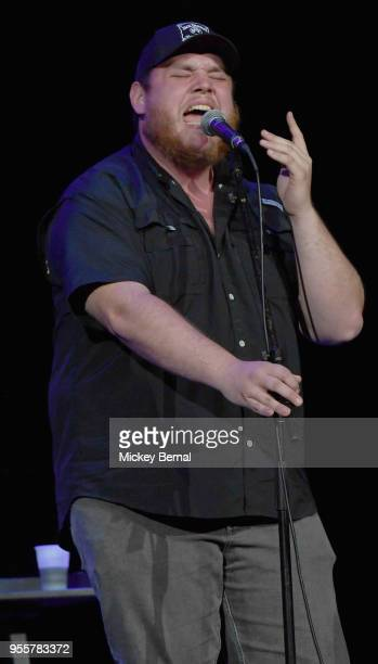 Artist Luke Combs performs onstage during the 3rd Annual AIMP Awards at Ryman Auditorium on May 7 2018 in Nashville Tennessee