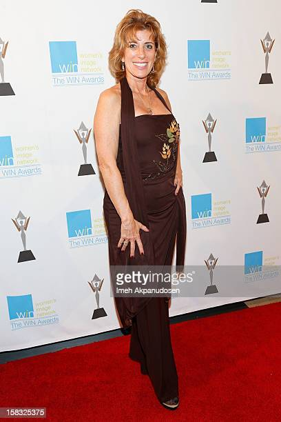 Artist Lynn Buettner attends the 14th Annual Women's Image Network Awards at Paramount Theater on the Paramount Studios lot on December 12, 2012 in...