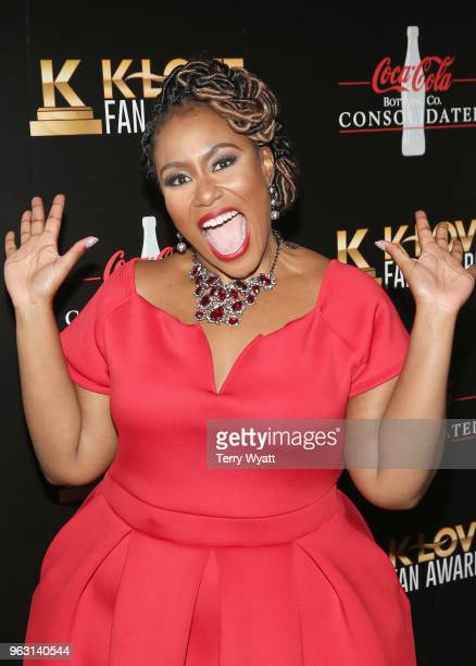 Artist Mandisa attends the 6th Annual KLOVE Fan Awards at The Grand Ole Opry on May 27 2018 in Nashville Tennessee