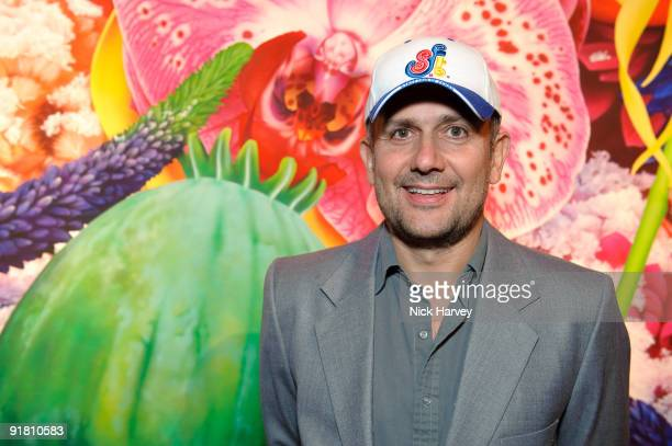 Artist Marc Quinn attends reception hosted by Graff held in aid of FACET at Christie's King Street on October 12 2009 in London England