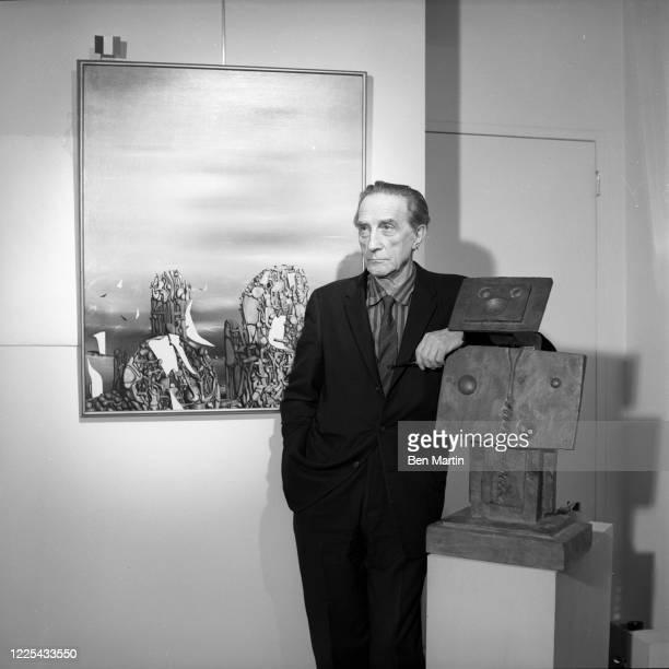 Artist Marcel Duchamp , December 1960.