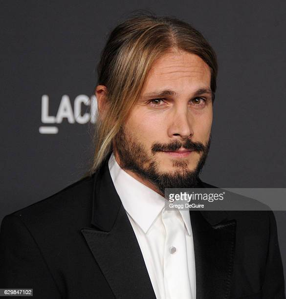 Artist Marco Perego arrives at the 2016 LACMA Art + Film Gala Honoring Robert Irwin And Kathryn Bigelow Presented By Gucci at LACMA on October 29,...