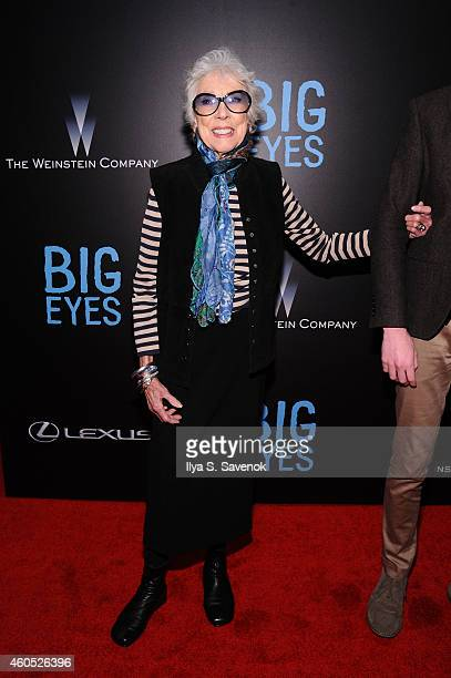 Artist Margaret Kean attends The New York Premiere Of BIG EYES at Museum of Modern Art on December 15, 2014 in New York City.